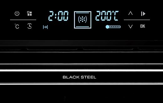Духові шафи «BLACK STEEL» від Günter & Hauer: новий стиль Ваших кулінарних можливостей!