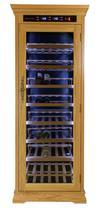 WK 300 A C1 - шафа для вина Günter & Hauer (світлий дуб)