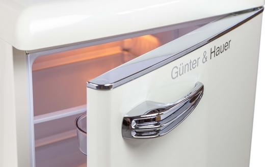 Компактний ретро холодильник Günter & Hauer FN 109 B