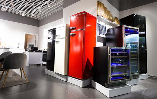 Сучасні холодильники Günter & Hauer ретро-серії