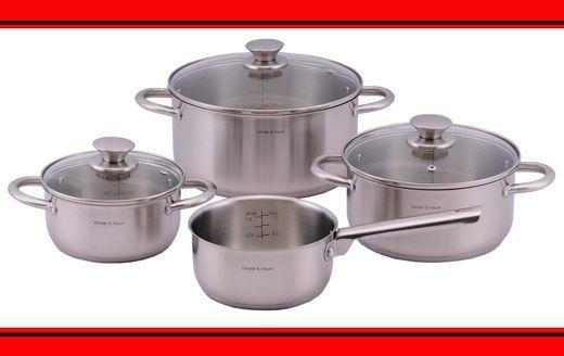 Звикли до якості техніки Günter & Hauer? – Не втратьте можливість оцінити набір посуду від улюбленого бренду!