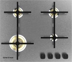 STELLA - газова варильна поверхня Günter & Hauer